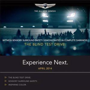 Blind Test Drive Insta