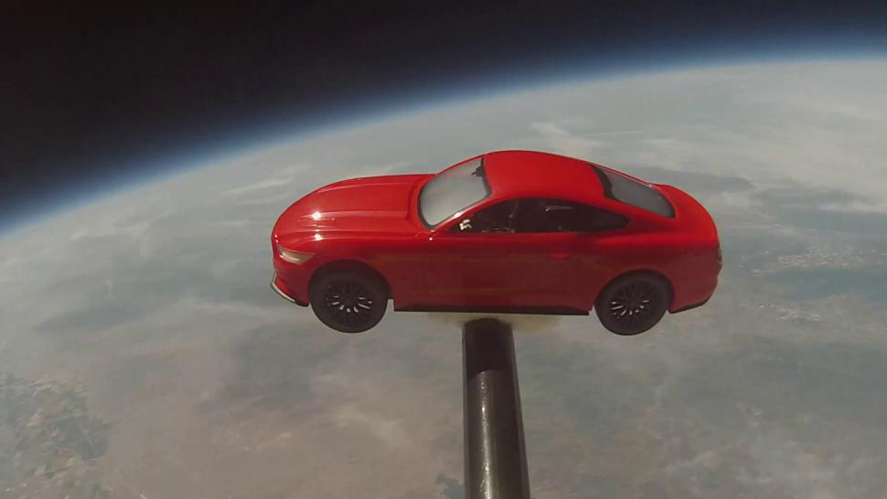 Ford Mustang In Space Taking You Car To A Whole New