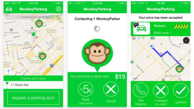 """The """"Monkey Parking"""" App Will End ALL Of Your Parking ..."""