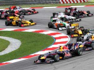 formula-one-race-cars