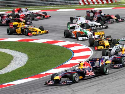 formula one today race