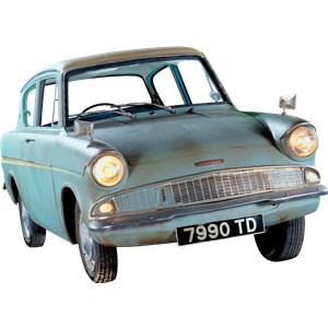 The Flying Ford Anglia Of Harry Potter!! - Car News - SBT