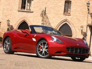 red-ferrari-california