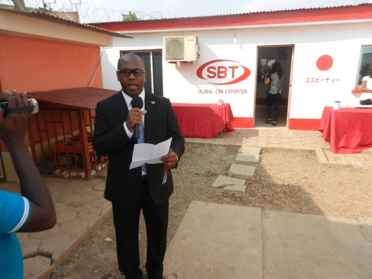 SBT Japan- Congo Office Launched Successfully - Car News ...