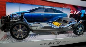 Toyota-Fuel-Cell-Vehicle-concept-car-at-CES-2014-chassis-with-video-of-body-styling-Photo-by-David-Cardinal-640x353