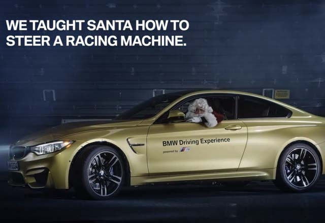 Bmw S Latest Brand Embassador Santa Himself Car News Sbt