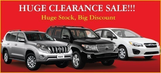 Huge Clearance Sale Car News Sbt Japan Japanese Used Cars Exporter