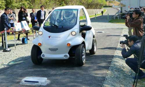 First Battery-less Vehicle