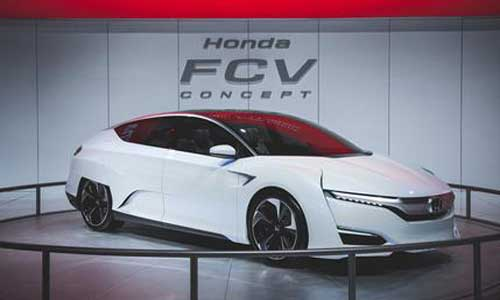 Honda's Fuel Cell Vehicle (FCV) will go on sale in Japan – 200 Units per year
