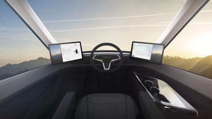 Tesla-semi-interior