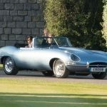 Jaguar E-type As Royal Wedding Car